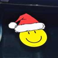 holiday santa hat decals