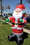 holiday inflatable santa