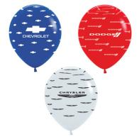 dealership logo balloons