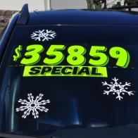 Holiday Snowflake Decals