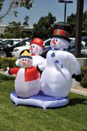 Holiday Inflatable Snowman
