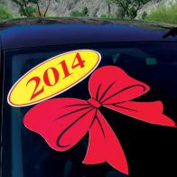 Holiday Decal Bows