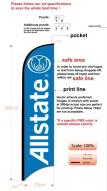 Allstate Insurance Custom Feather Flag